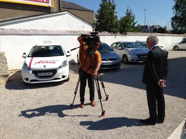 Reportage M6 sur l'Auto-Ecole
